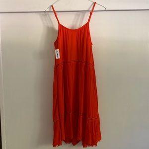 NEW red summer dress